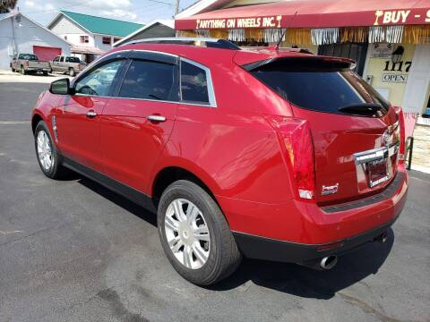 2010 Cadillac SRX for sale at ANYTHING ON WHEELS INC in Deland FL