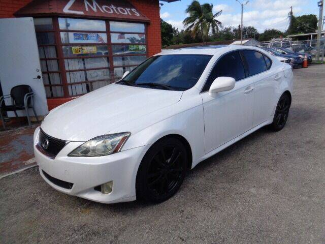 2007 Lexus IS 250 for sale at Z MOTORS INC in Hollywood FL