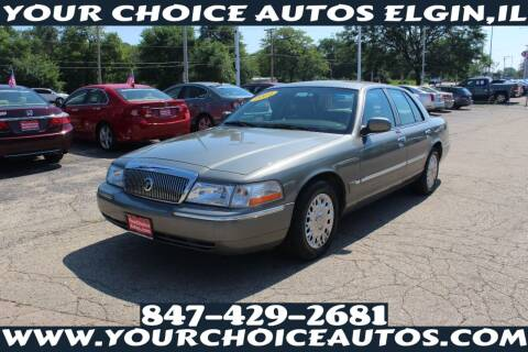 2004 Mercury Grand Marquis for sale at Your Choice Autos - Elgin in Elgin IL