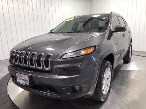 2017 Jeep Cherokee for sale at HILAND TOYOTA in Moline IL