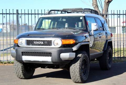2012 Toyota FJ Cruiser for sale at Avanesyan Motors in Orem UT