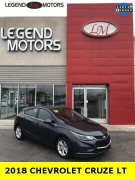 2018 Chevrolet Cruze for sale at Legend Motors of Waterford - Legend Motors of Ferndale in Ferndale MI