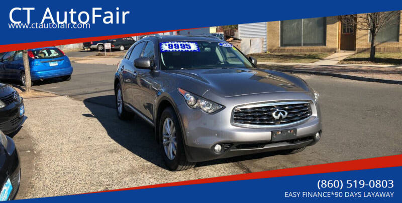 2010 Infiniti FX35 for sale at CT AutoFair in West Hartford CT