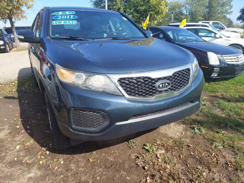 2011 Kia Sorento for sale at Car Connection in Yorkville IL