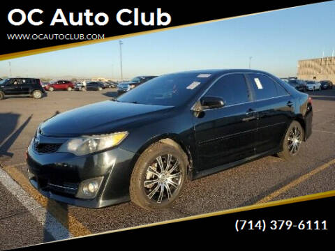 2012 Toyota Camry for sale at OC Auto Club in Midway City CA
