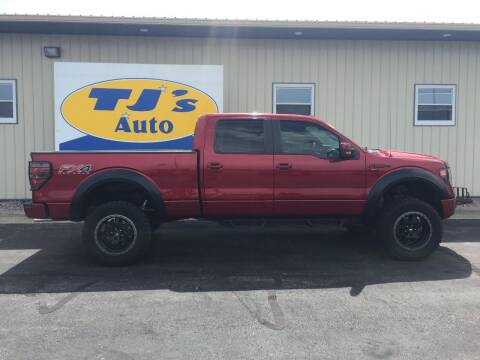 2013 Ford F-150 for sale at TJ's Auto in Wisconsin Rapids WI