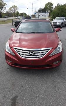 2013 Hyundai Sonata for sale at Mathews Used Cars, Inc. in Crawford GA