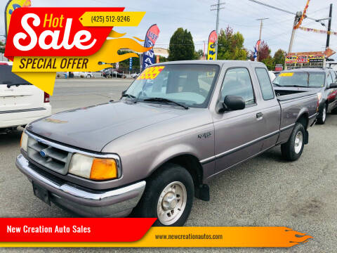 1997 Ford Ranger for sale at New Creation Auto Sales in Everett WA