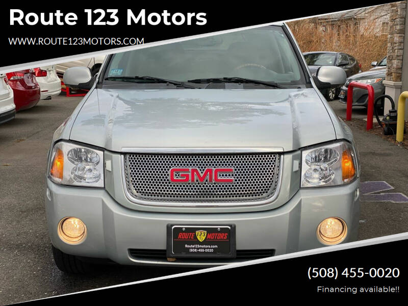 2007 GMC Envoy for sale at Route 123 Motors in Norton MA