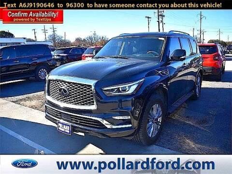2018 Infiniti QX80 for sale at South Plains Autoplex by RANDY BUCHANAN in Lubbock TX
