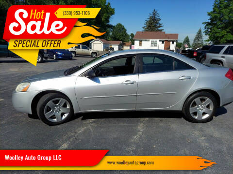 2009 Pontiac G6 for sale at Woolley Auto Group LLC in Poland OH