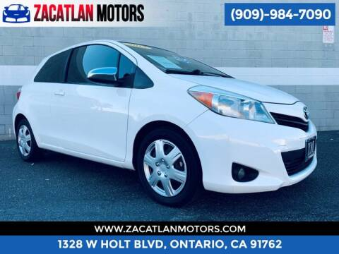 2013 Toyota Yaris for sale at Ontario Auto Square in Ontario CA
