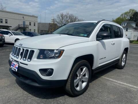 2014 Jeep Compass for sale at 1NCE DRIVEN in Easton PA
