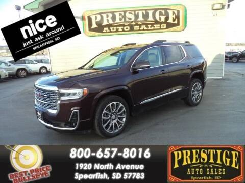 2020 GMC Acadia for sale at PRESTIGE AUTO SALES in Spearfish SD