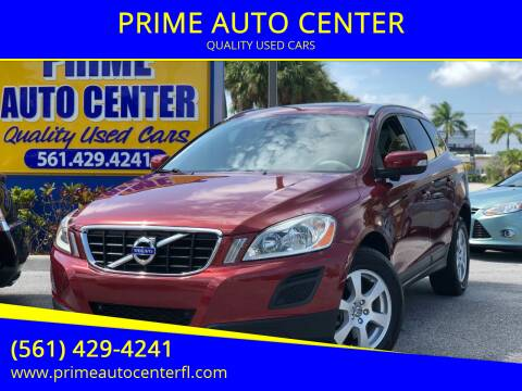 2011 Volvo XC60 for sale at PRIME AUTO CENTER in Palm Springs FL