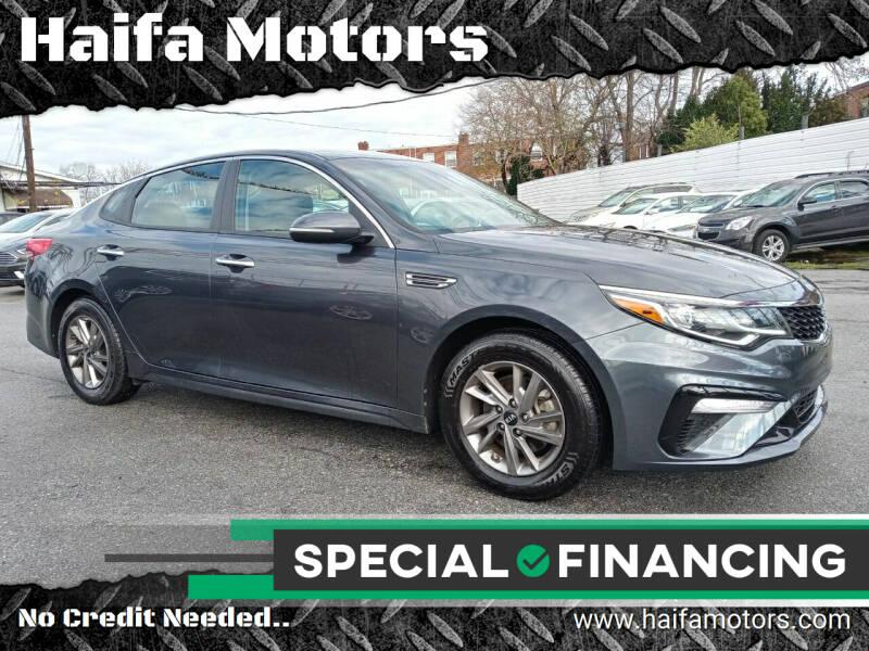 2020 Kia Optima for sale at Haifa Motors in Philadelphia PA