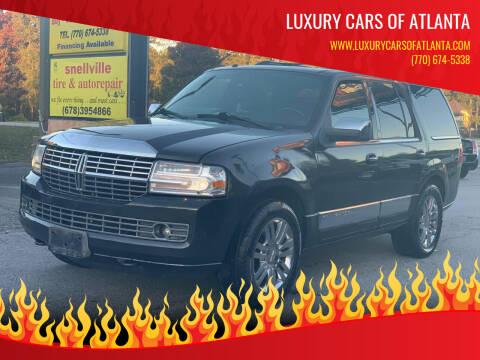 2007 Lincoln Navigator for sale at Luxury Cars of Atlanta in Snellville GA