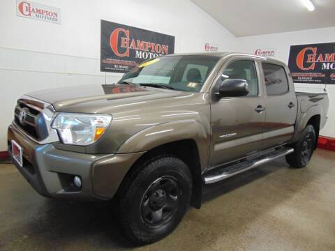 2013 Toyota Tacoma for sale at Champion Motors in Amherst NH