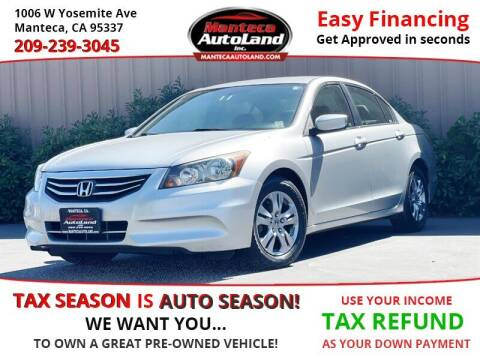 2012 Honda Accord for sale at Manteca Auto Land in Manteca CA