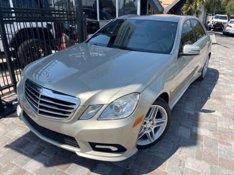 2011 Mercedes-Benz E-Class for sale at Unique Motors of Tampa in Tampa FL