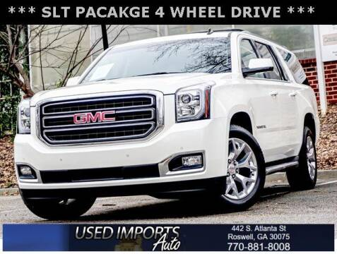 2015 GMC Yukon XL for sale at Used Imports Auto in Roswell GA