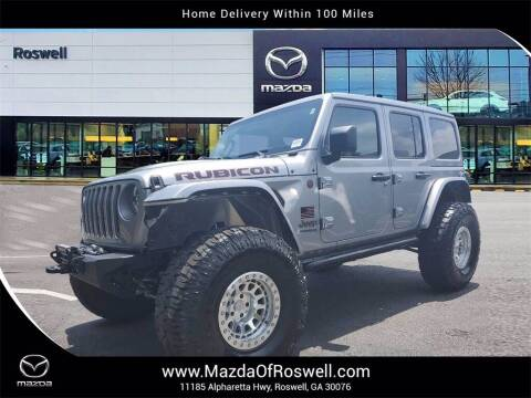 2020 Jeep Wrangler Unlimited for sale at Mazda Of Roswell in Roswell GA