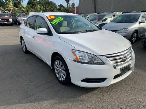 2014 Nissan Sentra for sale at North County Auto in Oceanside CA