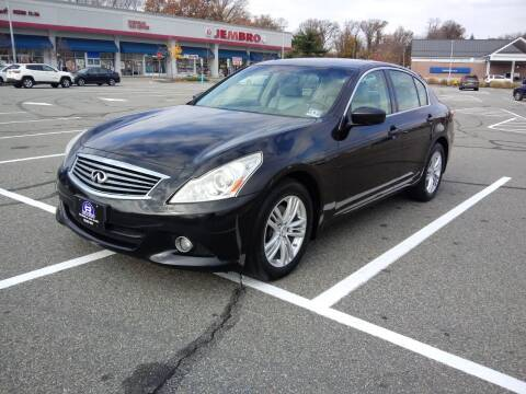 2012 Infiniti G37 Sedan for sale at B&B Auto LLC in Union NJ