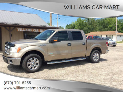 2013 Ford F-150 for sale at WILLIAMS CAR MART in Gassville AR