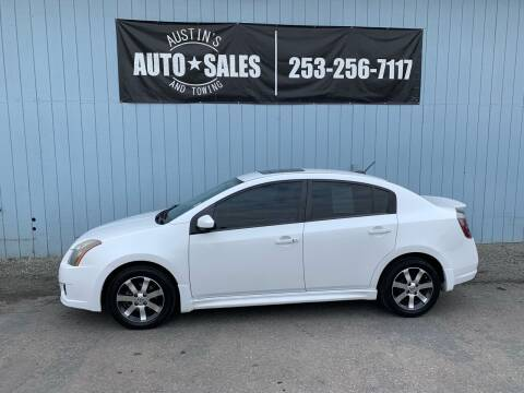 2012 Nissan Sentra for sale at Austin's Auto Sales in Edgewood WA