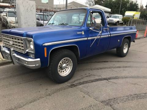 1977 Chevrolet C/K 20 Series for sale at Chuck Wise Motors in Portland OR
