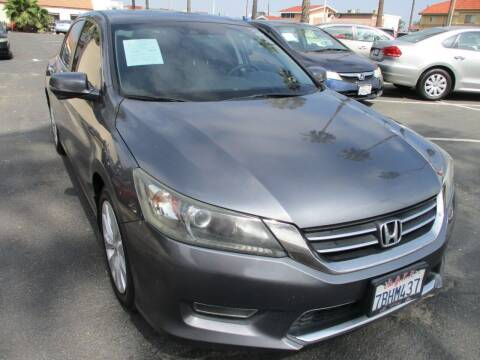 2013 Honda Accord for sale at F & A Car Sales Inc in Ontario CA