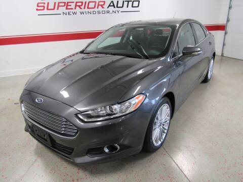 2016 Ford Fusion for sale at Superior Auto Sales in New Windsor NY