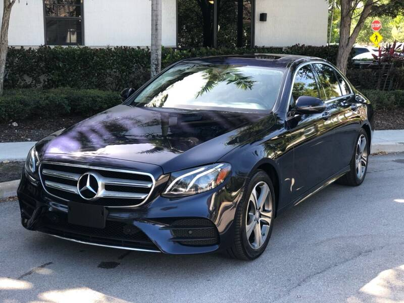 2017 Mercedes-Benz E-Class for sale at CAR UZD in Miami FL