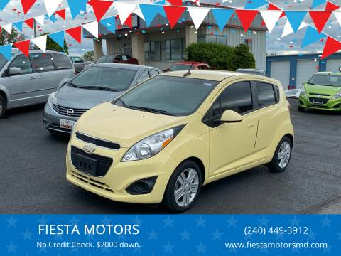 2014 Chevrolet Spark for sale at FIESTA MOTORS in Hagerstown MD