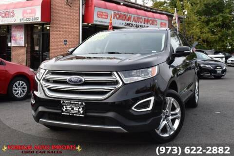 2018 Ford Edge for sale at www.onlycarsnj.net in Irvington NJ