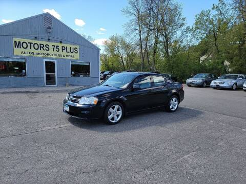 2011 Dodge Avenger for sale at Motors 75 Plus in Saint Cloud MN