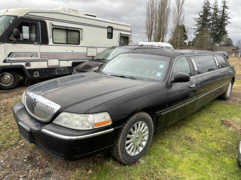 2005 Lincoln Town Car for sale at JMG MOTORS in Lynden WA