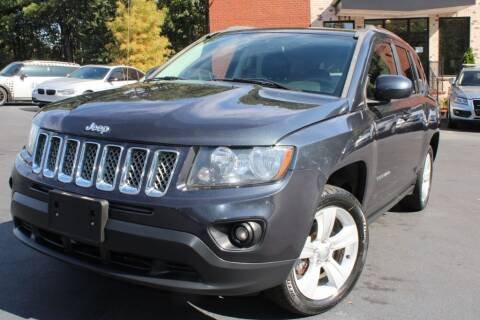 2014 Jeep Compass for sale at Atlanta Unique Auto Sales in Norcross GA