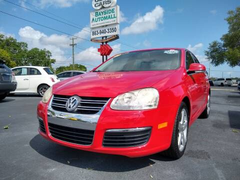 2010 Volkswagen Jetta for sale at BAYSIDE AUTOMALL in Lakeland FL