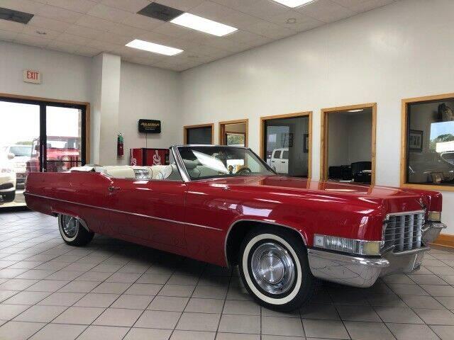 1969 Cadillac DeVille for sale at Rabeaux's Auto Sales in Lafayette LA