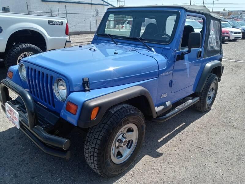 1997 Jeep Wrangler for sale at ACE AUTO SALES in Lake Havasu City AZ