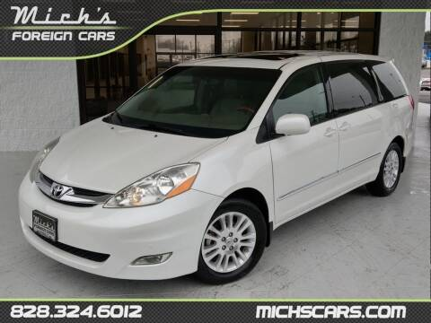 2010 Toyota Sienna for sale at Mich's Foreign Cars in Hickory NC