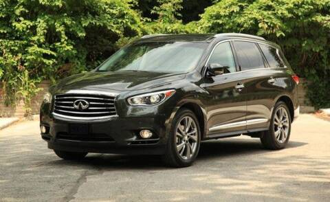 2013 Infiniti JX35 for sale at CARDEPOT in Fort Worth TX