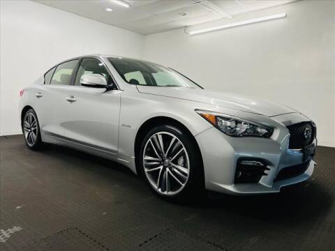 2015 Infiniti Q50 Hybrid for sale at Champagne Motor Car Company in Willimantic CT