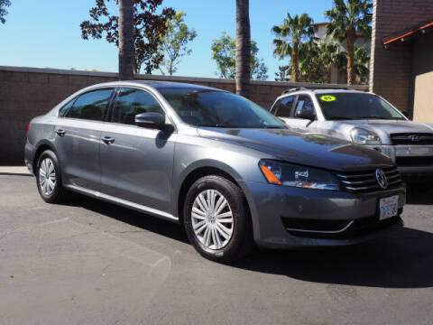 2015 Volkswagen Passat for sale at Corona Auto Wholesale in Corona CA