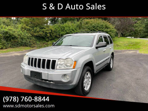 2007 Jeep Grand Cherokee for sale at S & D Auto Sales in Maynard MA
