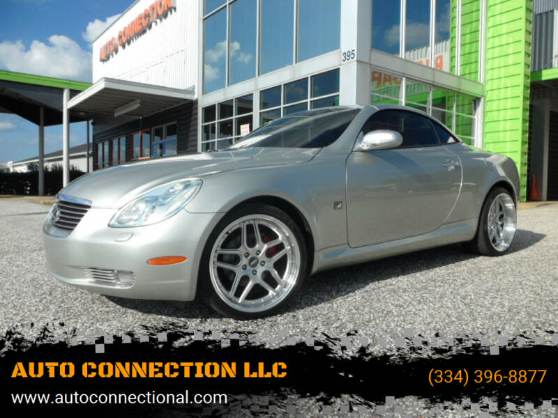 2002 Lexus SC 430 for sale at AUTO CONNECTION LLC in Montgomery AL