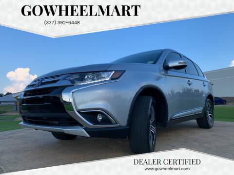 2017 Mitsubishi Outlander for sale at GOWHEELMART in Leesville LA