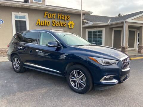 2019 Infiniti QX60 for sale at Fort Hays Auto Sales in Hays KS